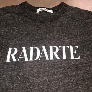 Dark black/ gray Rodarte tee